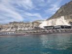 Pláž Black Beach - ostrov Santorini foto 7