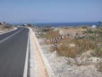 Pláž Fakinos - ostrov Santorini foto 1