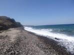 Pláž Fakinos - ostrov Santorini foto 5