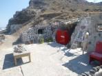 Pláž Fakinos - ostrov Santorini foto 8