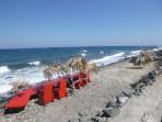Pláž Fakinos - ostrov Santorini foto 9