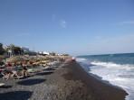 Pláž Kamari - ostrov Santorini foto 3