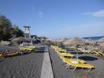 Pláž Kamari - ostrov Santorini foto 7