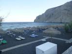 Pláž Kamari - ostrov Santorini foto 9