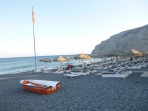 Pláž Kamari - ostrov Santorini foto 17