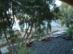 Pláž Kamari - ostrov Santorini foto 26