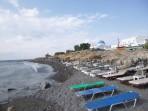 Pláž Perissa - ostrov Santorini foto 4