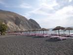 Pláž Perissa - ostrov Santorini foto 6