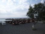 Pláž Perissa - ostrov Santorini foto 7