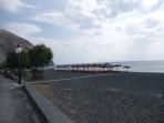 Pláž Perissa - ostrov Santorini foto 9