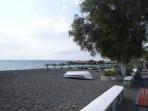 Pláž Perissa - ostrov Santorini foto 10