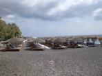 Pláž Perivolos - ostrov Santorini foto 11