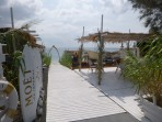 Pláž Perivolos - ostrov Santorini foto 12