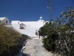 Klášter sv. Mikuláše - ostrov Santorini foto 2