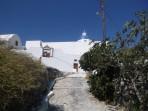 Klášter sv. Mikuláše - ostrov Santorini foto 3