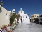 Kostel Panagia Platchani (Oia) - ostrov Santorini foto 1