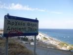 Thira (archeologické naleziště) - ostrov Santorini foto 1