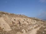 Thira (archeologické naleziště) - ostrov Santorini foto 10
