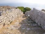 Thira (archeologické naleziště) - ostrov Santorini foto 29