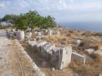 Thira (archeologické naleziště) - ostrov Santorini foto 43