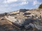 Thira (archeologické naleziště) - ostrov Santorini foto 47