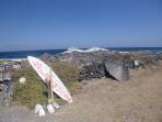 Pláž Cape Columbo - ostrov Santorini foto 2