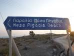 Pláž Mesa Pigadia - ostrov Santorini foto 1