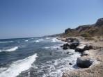 Pláž Paradisi - ostrov Santorini foto 5