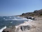 Pláž Paradisi - ostrov Santorini foto 7