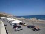 Pláž Vourvoulos - ostrov Santorini foto 2