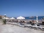 Pláž Vourvoulos - ostrov Santorini foto 3