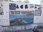 Pláž Vourvoulos - ostrov Santorini foto 8