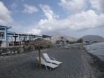 Pláž Agios Georgios - ostrov Santorini foto 3