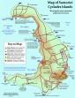 Santorini mapa 8
