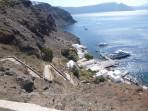Pláž Armeni - ostrov Santorini foto 3