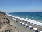 Pláž Baxedes - ostrov Santorini foto 1