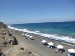 Pláž Baxedes - ostrov Santorini foto 3
