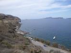 Pláž Caldera - ostrov Santorini foto 4