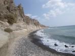 Pláž Eros - ostrov Santorini foto 2