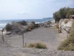 Pláž Eros - ostrov Santorini foto 11