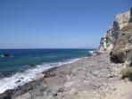 Pláž Katharos - ostrov Santorini foto 1