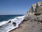 Pláž Katharos - ostrov Santorini foto 7
