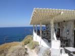Pláž Katharos - ostrov Santorini foto 8