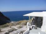 Pláž Katharos - ostrov Santorini foto 10