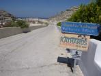 Pláž Katharos - ostrov Santorini foto 12