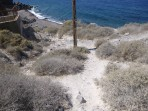 Pláž Katharos - ostrov Santorini foto 13