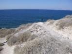 Pláž Katharos - ostrov Santorini foto 14