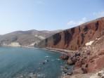 Pláž Red Beach - ostrov Santorini foto 2