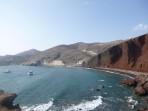 Pláž Red Beach - ostrov Santorini foto 3