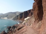 Pláž Red Beach - ostrov Santorini foto 4